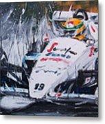 Ayrton Senna Toleman 1984 Metal Print