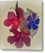 Azalea Bouquet Majic Metal Print