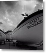 Azorean Fishing Boats Metal Print