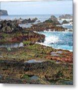 Azores Seascape Metal Print