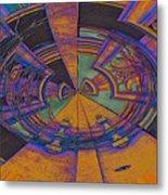 Aztec Abstract Metal Print