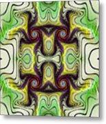 Aztec Art Design Metal Print
