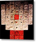 Aztec Nuclear Furnace Metal Print by Eikoni Images