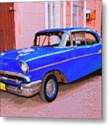 Azul Cobalto Metal Print