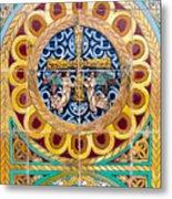 Azulejo - Colorful Details Metal Print
