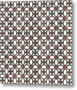 Azulejos Magic Pattern - 06 Metal Print