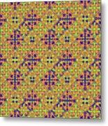 Azulejos Magic Pattern - 09 Metal Print