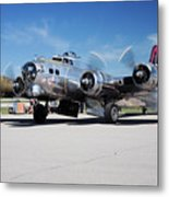 B-17 Flying Fortress, Yankee Lady Metal Print