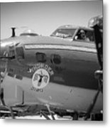B-17 Taxiing For Departure Metal Print