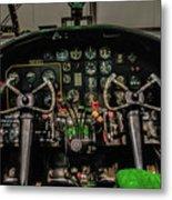 B-25 Mitchell Cockpit Metal Print