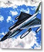 B-58 Hustler - Oil Metal Print