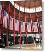 B And O Museum Roundhouse In Baltimore Maryland Metal Print
