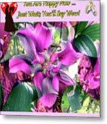 B Exton  Flowering Of Delights  Bigstock 164301632  2991949 Metal Print
