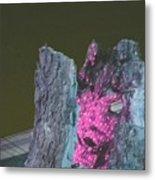B. W. Ahahaha Metal Print