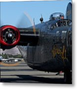 B24 Liberator Ready To Taxi Memorial Day Weekend 2015 Metal Print