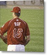 Babe Ruf Metal Print by Trish Tritz