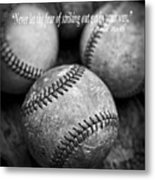Babe Ruth Quote Metal Print