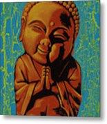 Baby Buddha Metal Print