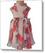 Baby Girl Dresses Dresses For Girls - Faye Metal Print