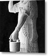 Babylonian God Of Healing, 5000 Bc Metal Print