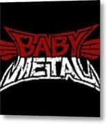 Babymetal Metal Print