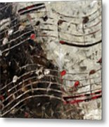 Bach Invention 13 Metal Print