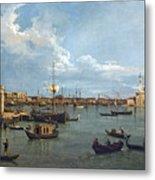 Bacino Di San Marco From Canale Della Giudecca Metal Print