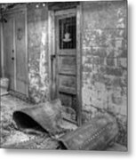 Back Alley Bow Metal Print