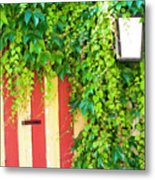 Back Alley Color Metal Print