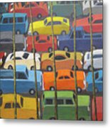 Back And Forth Metal Print