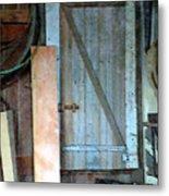 Back Corner Closet Metal Print