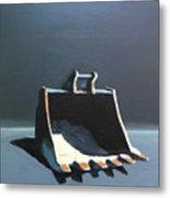 Back Hoe Bucket 2 Metal Print