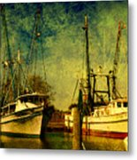 Back Home In The Harbor Metal Print