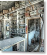 Back In 5 - The General Store, Bodie Ghost Town Metal Print