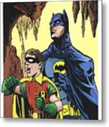 Back In The Batcave Metal Print