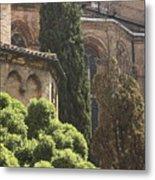 Back Of Church Of The Frari In Venice Metal Print