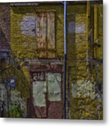 Back Of Old Building Metal Print