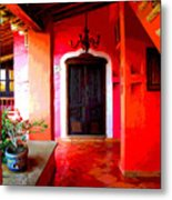 Back Passage By Darian Day Metal Print