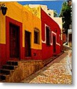 Back Street Guanajuato Metal Print
