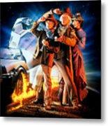 Back To The Future Part IIi 1990 Metal Print