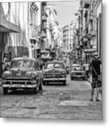 Back To The Past Metal Print