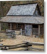 Backcountry Farm  Metal Print