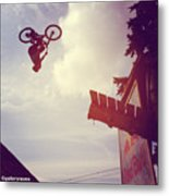 Backflip Descent Metal Print