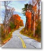 Backroads Vermont Metal Print