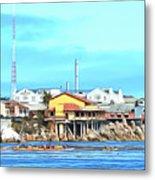 Fishermans Wharf 2 Metal Print