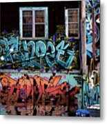 Backstreet Metal Print by Joanna Madloch