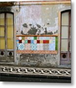 Backstreets Of Palma De Mallorca Metal Print