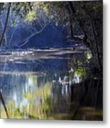 Backwater Gate Metal Print