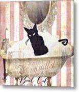 Bad Cat I Metal Print