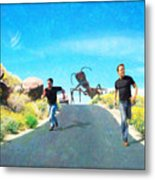 Bad Day For A Nature Hike Metal Print